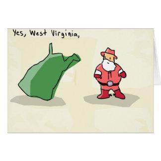 Yes West Virginia Card