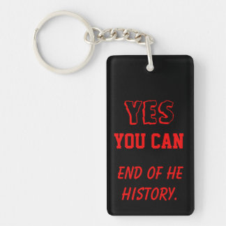Yes you can end of the history key chain