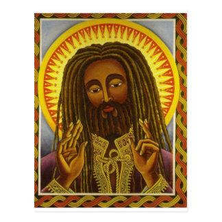 Yeshu Rasta Fari Postcard