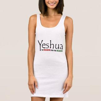 Yeshua (Jesus) Christmas: Reason for the Season Sleeveless Dress