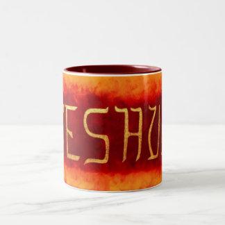 Yeshua Two-Tone Coffee Mug