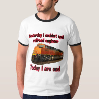 Yesterday I couldn't spell engineer..... T-Shirt