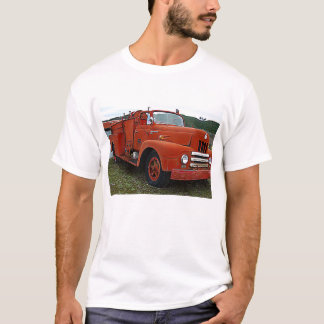 Yesteryears Old Red Firetruck T-Shirt