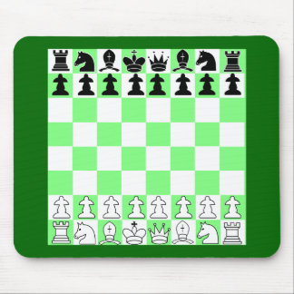 Yet another game of chess mouse pad