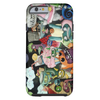 Yeti and Monsters Party iPhone 6 Case