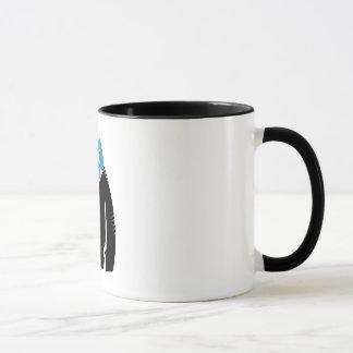 yeti design shape -funny mug