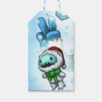Yeti Doll Gift Tag Pack Of Gift Tags