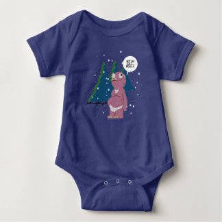 Yeti in a Cold Weather Baby Jersey Bodysuit