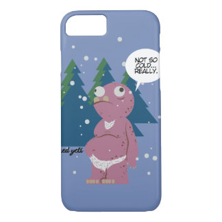 Yeti in a Cold Weather iPhone 7 Case