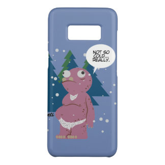 Yeti in a Cold Weather Samsung Galaxy S8 Case