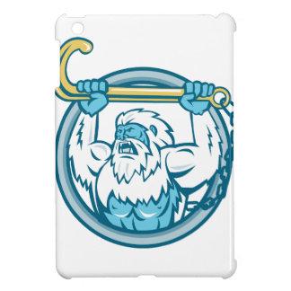 Yeti Lifting J Hook Circle Retro iPad Mini Cases
