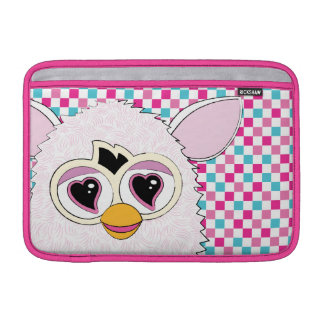 Yeti White Furby MacBook Sleeve