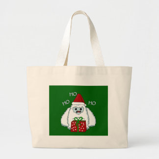 Yeti Xmas Large Tote Bag