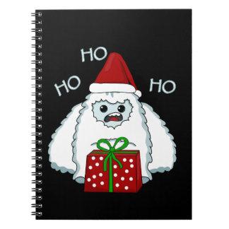 Yeti Xmas Notebook