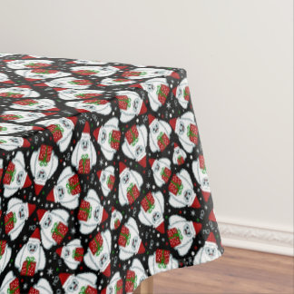 Yeti Xmas pattern Tablecloth
