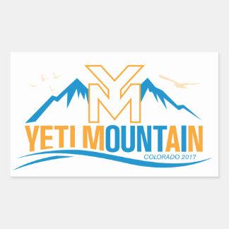YetiMan Mountain Colorado 2017 Color