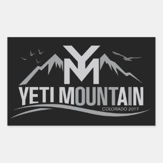YetiMan Mountain Colorado 2017 Gray on Black