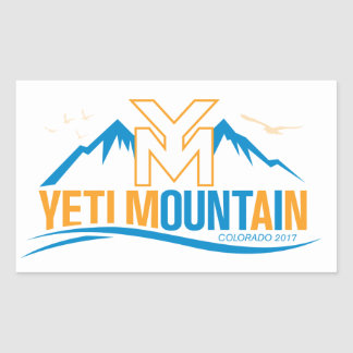 YetiMan Mountain Colorado 2017 Sticker