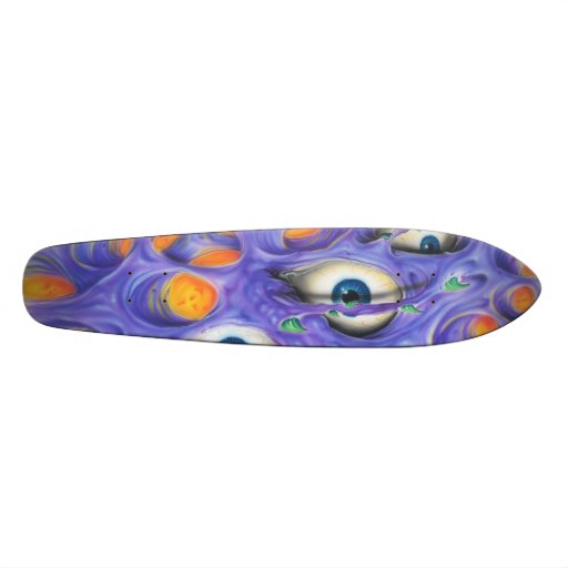 Yeux sauvages skateboards personnalisables