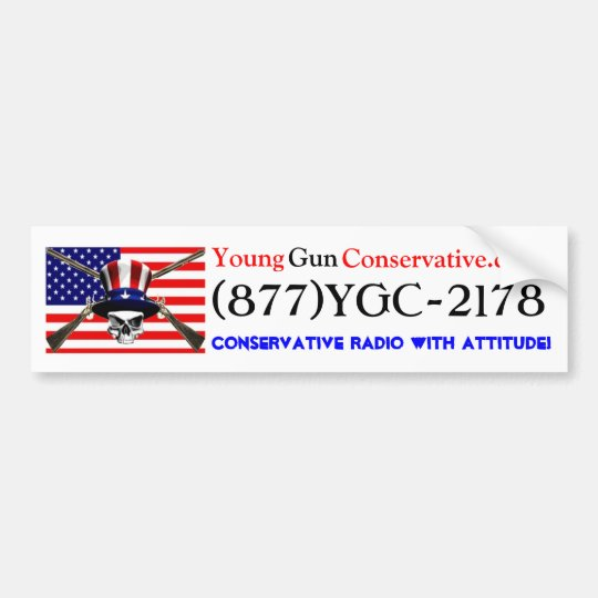 YGC Radio Bumper Sticker