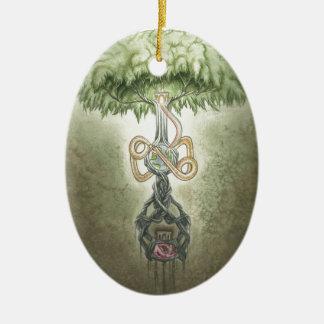 Yggdrasil Ceramic Ornament