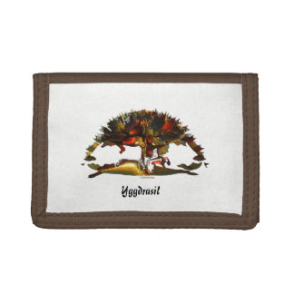 Yggdrasil - The Tree of Life Tri-fold Wallet