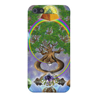 Yggdrasil, The World Tree iPhone4 Case iPhone 5/5S Cases