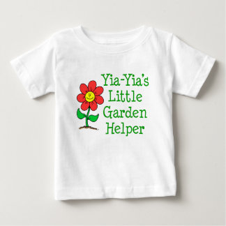 Yia-Yia's Little Garden Helper Baby T-Shirt