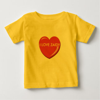 YIDDISH I LOVE ZAIDY  OR GRANDFATHER T SHIRT