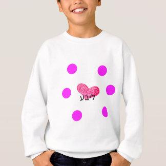 Yiddish Language of Love Design Sweatshirt