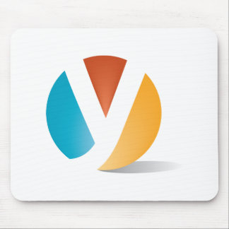 Yield logo mouse pad