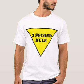 yield sign 3 Second Rule T-Shirt