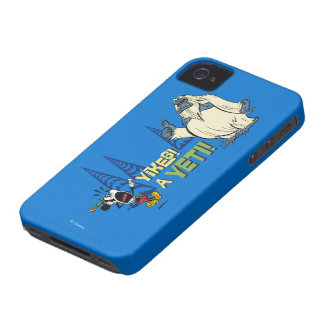 Yikes! A Yeti! iPhone 4 Case