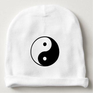 Yin and Yang Baby Beanie