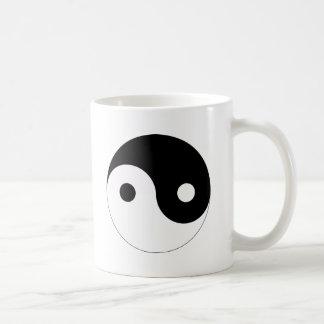 yin and yang balance symbol religion tao taoism coffee mug