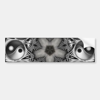 Yin and Yang Bumper Sticker