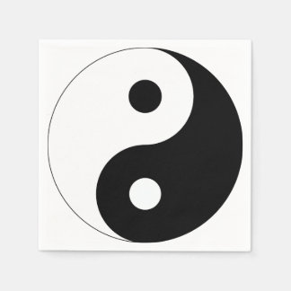 Yin and Yang Disposable Napkins