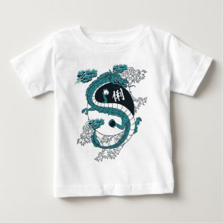 Yin and Yang Dragons Baby T-Shirt
