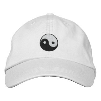 Yin and Yang Embroidered Hat