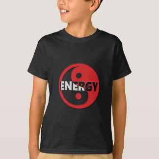 Yin and yang energy concept. T-Shirt