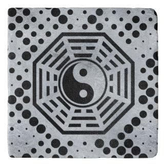 Yin and Yang Feng shui  bagua Trivet