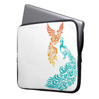Yin and Yang - Fire and Water Laptop Sleeve