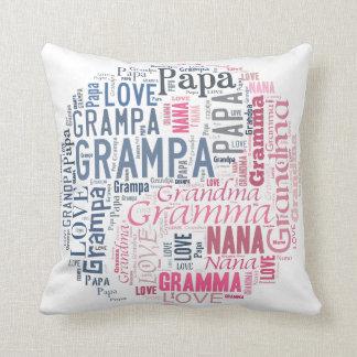 Yin and Yang Grandma and Grandpa Pillow