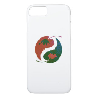 Yin and Yang Leaves Case-Mate iPhone Case