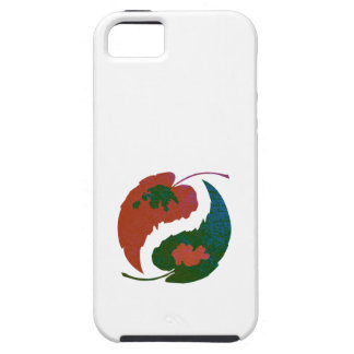 Yin and Yang Leaves iPhone 5 Covers