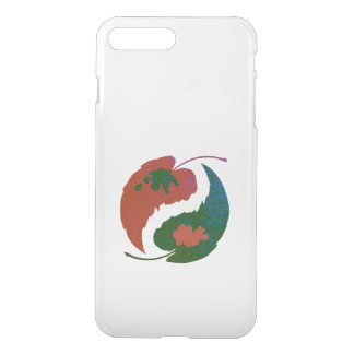Yin and Yang Leaves iPhone 7 Plus Case