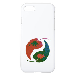 Yin and Yang Leaves iPhone 8/7 Case