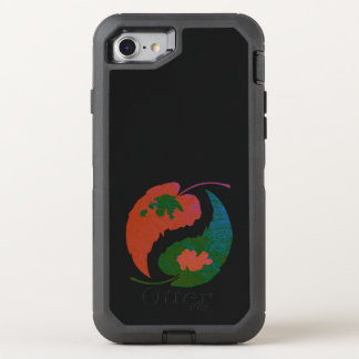 Yin and Yang Leaves OtterBox Defender iPhone 8/7 Case