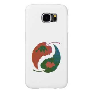 Yin and Yang Leaves Samsung Galaxy S6 Cases