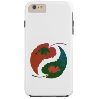 Yin and Yang Leaves Tough iPhone 6 Plus Case